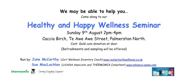 Healthy and Happy Wellness Seminar