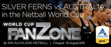 NZ vs AUS - Netball World Cup FanZone