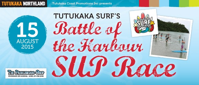 Tutukaka Surf's 3rd Great Battle of the Harbour SUP Race