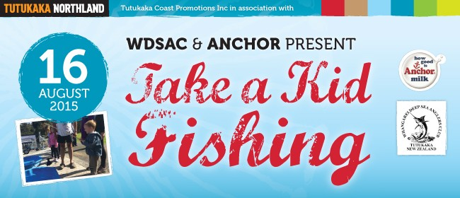 WDSAC presents Take A Kid Fishing in association with Anchor