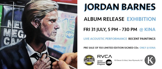 Jordan Barnes Album Release/Exhibition