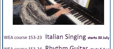 Italian Singing - with Claudia Lues