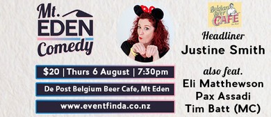 Mt Eden Comedy: Justine Smith