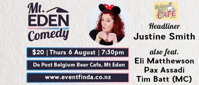 Mt Eden Comedy: Justine Smith