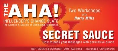 The Aha! Influencers Change Slate & Secret Sauce