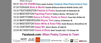 Pastries & Poetry - When Poetry Comes to Town