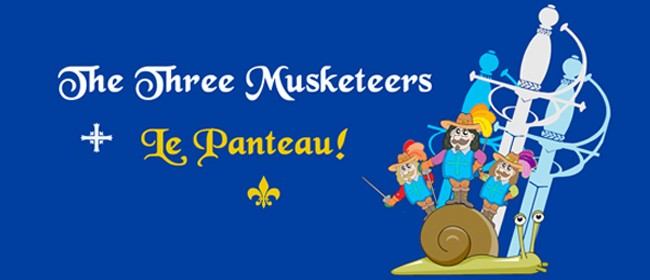 The Three Musketeers - Le Panteau!