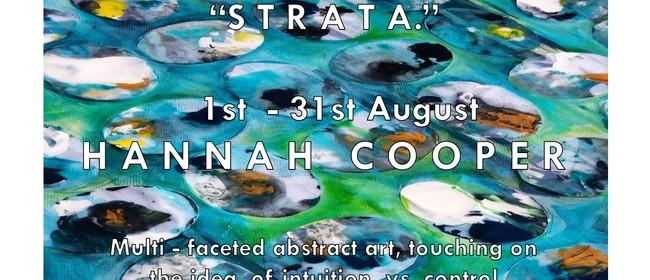 """Strata"" - Art Exhibition by Hannah Fehr - Cooper"