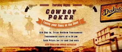 Cowboy Poker Tournament