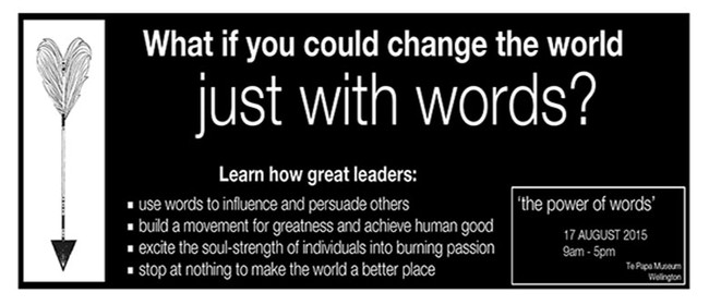 Visionspeak : Learn How Leaders Change the World With Words