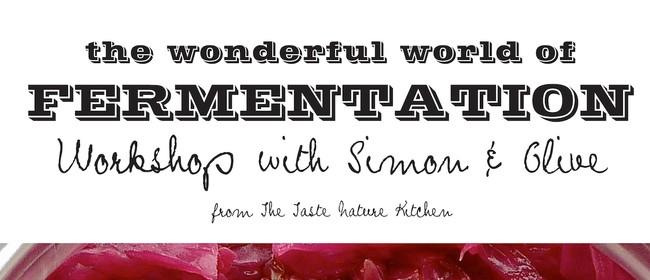 Taste Nature Fermentation Workshop: Sauerkraut + Kimchi