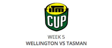 ITM Cup 2015 - Wellington Lions v Tasman