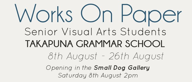 Takapuna Grammar School: Works on Paper 2015