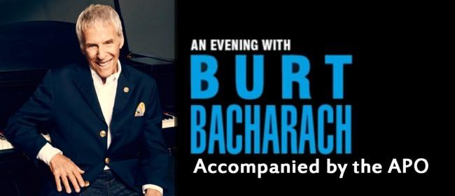 Burt Bacharach accompanied by the APO
