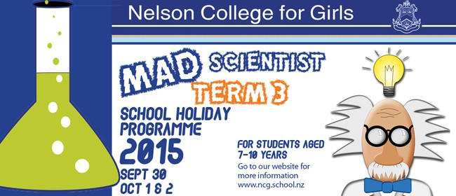 NCG Mad Scientist School Holiday Programme