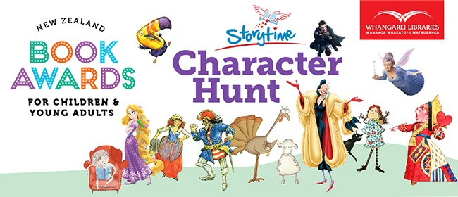 Storytime Character Hunt