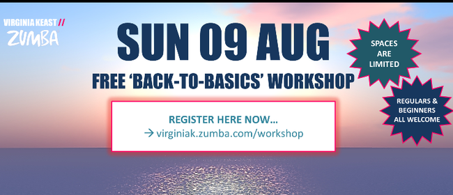 'Back-to-Basics' Zumba Workshop for Beginners