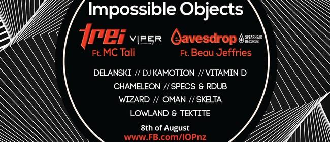 Impossible Objects ΔX: TREi & MC Tali, Eavesdrop & Beau MC