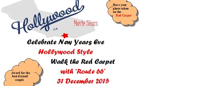 New Year's Eve Hollywood Movie Stars Party with Route 66