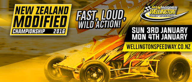 New Zealand V8 Modified Champs + Saloon Car Action