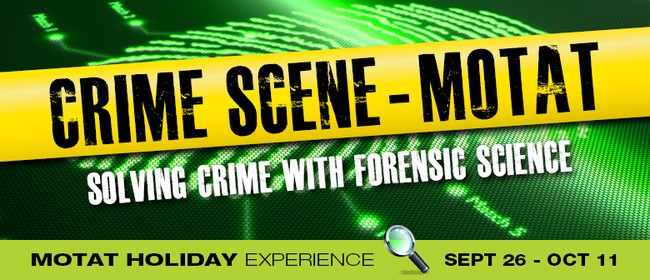 Crime Scene MOTAT Holiday Experience