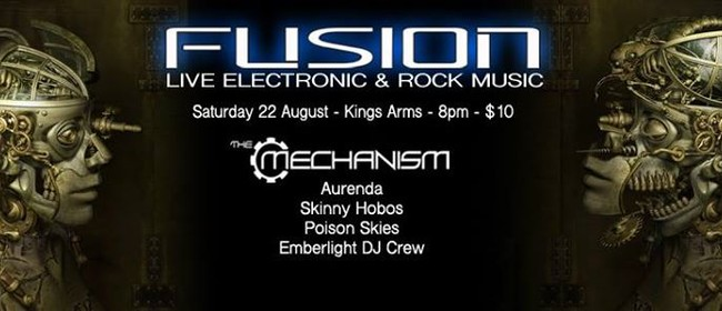 The Mechanism w/ Amrenda, Poison Skies, Skinny Hobos...