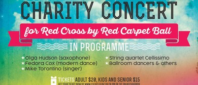 Charity Concert for Red Cross by Red Carpet
