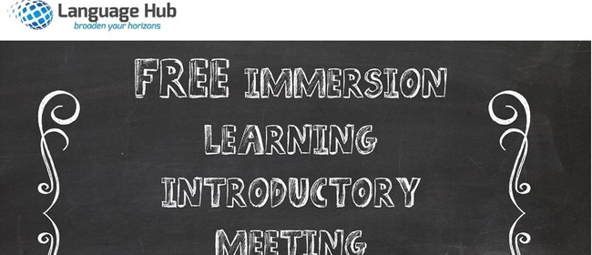 Introduction to Immersion Learning