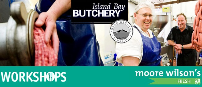 Gourmet Sausage Making with Island Bay Butchery