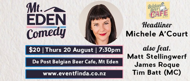 Mt Eden Comedy: Michele A'Court