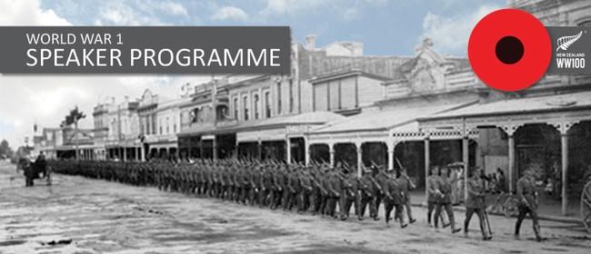 World War 1 Speaker Programme
