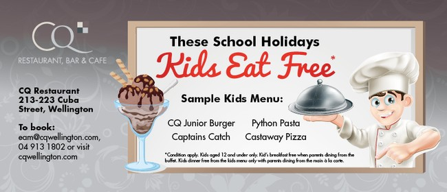 Kids Eat Free These School Holidays