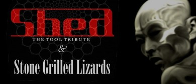 Shed - The Tool Tribute with Stone Grilled Lizards
