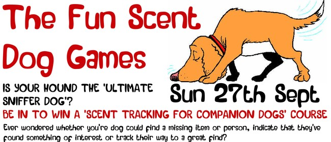 The Fun Scent Dog Games