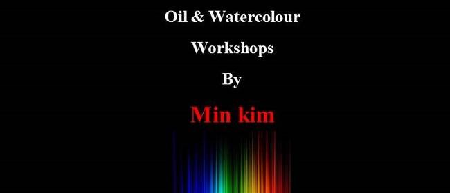 Oils & Watercolour - Kim Min