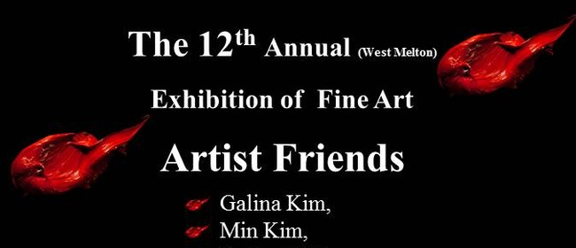 12th Annual (West Melton) Art Event - Artist Friends