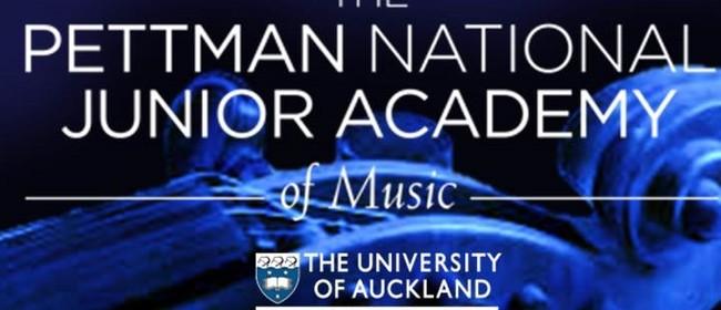 The Pettman National Junior Academy of Music