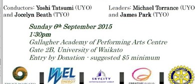 Joint Concert - United Youth and Taranaki Youth Orchestras