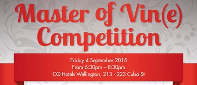 Master of Vin(e) Competition