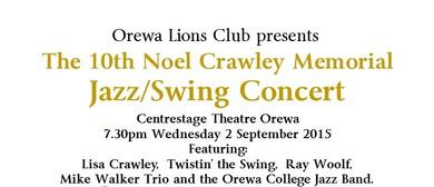 10th Noel Crawley Memorial Jazz/Swing Concert