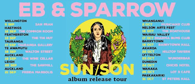 Eb and Sparrow Tour Sun/Son w Jessie Shanks