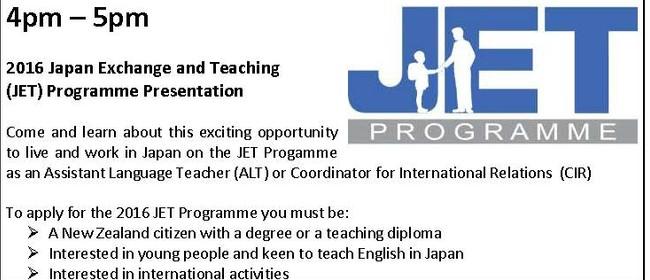 JET Programme Presentation
