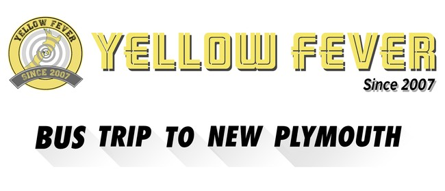 Yellow Fever Bus to New Plymouth