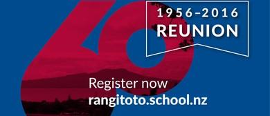 Rangitoto College 60th Reunion