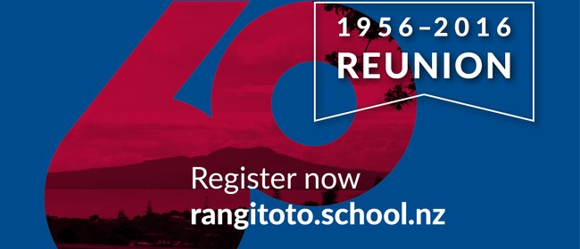 Rangitoto College 60th Reunion