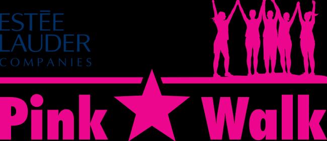 The Estée Lauder Companies Pink Star Walk