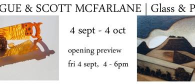 Kim Logue& Scott Mcfarlane Glass & Painting