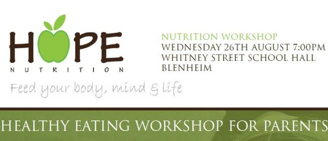 Healthy Eating Workshop - What to Feed Sporty Kids