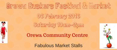 Orewa Buskers Festival Market
