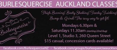 Burlesquercise Auckland Classes